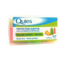 QUIES PROTECTION AUDITIVE 3 paires