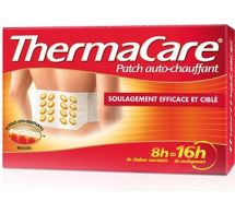 THERMACARE PATCH AUTO-CHAUFFANT dos x 2