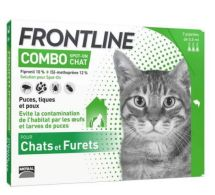 FRONTLINE® Combo Spot-on Chat 3 pipettes