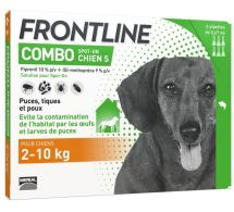 FRONTLINE® Combo Spot-on 2-10 kg Chien S - 4 pipettes