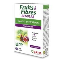 Ortis Fruits & Fibres regular – 30 comprimés