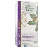 Biogaran Intrait de Marron d'Inde – Solution H Transit – 200ml